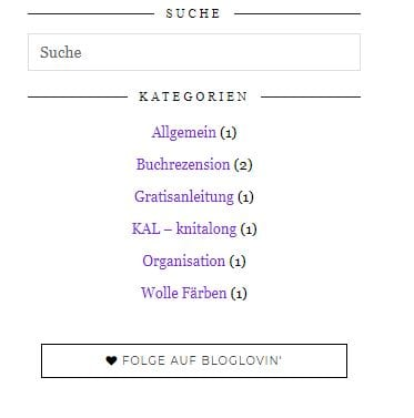 Bloglovin Follow Button